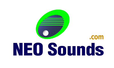 NeoSounds.com logo - royalty free music