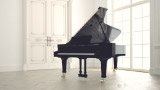 Grand piano in classic room - thumbnail