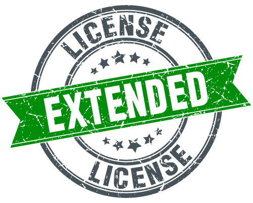 License Stamp Extended