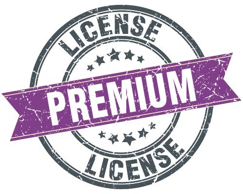License Stamp Premium